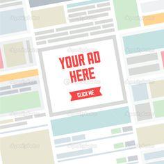 anúncio + flat de design - Pesquisa Google