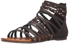 Billabong Women's Sunset Lover Gladiator Sandal => Quickly view this special  product, click the image : Gladiator sandals