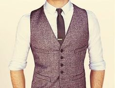 Mens Vest, don't think I can pull off a vest.