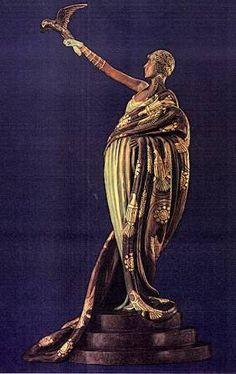 Victoire  Erte Art Deco Museum of Sculpture (718) 531-7830 Art Deco Bar, Art Deco Home, Art Deco Design, Art Nouveau, Sculpture Art, Sculpture Museum, Erte Art, Asian Sculptures, Inspiration Art
