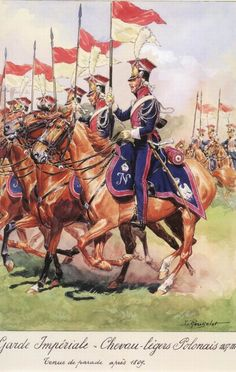 GUARD LANCERS. 1st REGIMENT ( POLISH LANCERS)