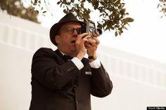 "Scene from ""Parkland"" - Abraham Zapruder films the assassination."