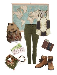 """Go where your heart shows"" by gardenofroses on Polyvore featuring WALL, Chanel, J Brand, Haute Hippie, Royce Leather and Tai"