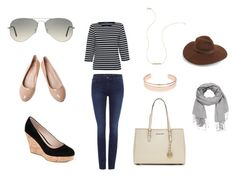 Shopping day by lindseybates on Polyvore featuring Saint James, Calvin Klein, Carvela, MICHAEL Michael Kors, Leith, Wish by Amanda Rose, Ray-Ban, Lack of Color and maurices