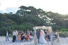 Hyams Beach set up by As A Whisper. Photo by Nora Devai Photography