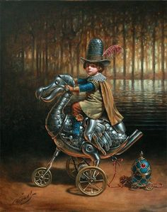 Dodocycle-Michael Cheval (1966, Russian-born American)