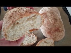 (SUB) YOĞURMAK YOK❗ SADECE KAŞIKLA KARIŞTIR - DIŞI ÇITIR, İÇİ PAMUK EKMEK TARİFİ - YouTube Bread Bun, Bread Rolls, Bread Recipes, Baking Recipes, Croation Recipes, Ital Food, No Knead Bread, Baking Buns, Creative Cake Decorating