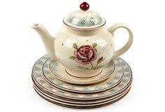 Emma Bridgewater Tea Set, 7 Pcs on OneKingsLane.com