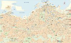 Vigo tourist map
