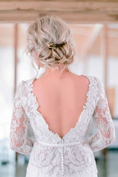 wedding updos hairstyles via rensche mari