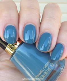 Revlon Chic  - click thru to see the rest of my favorite blue polishes from 2013!