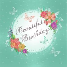Claire Mcelfatrick - Floral Wreath Birthday