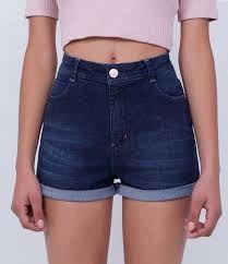 Resultado de imagem para shorts jeans feminino estampados