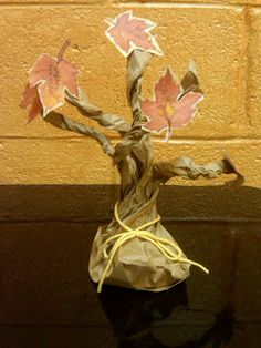 LDS Activity Day Ideas--Thankful Trees