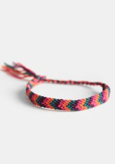 Santa Fe Friendship Bracelet 10.00 at threadsence.com