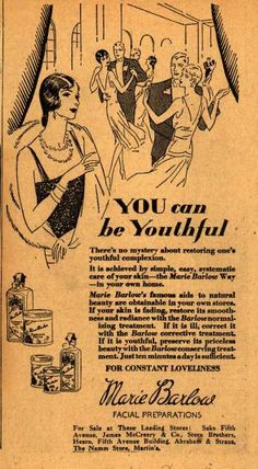 Marie Barlow – YOU can be Youthful (1929)