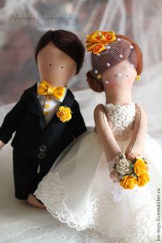 Куклы Жених и невеста (mini), $43