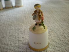 RARE SUTHERLAND  CHINA BEATRIX POTTER  THIMBLE - LUCIE