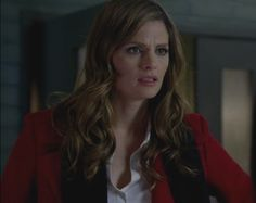 "Stana Katic as Kate Beckett in Castle Season 5 Episode 10 ""Significant Others"""