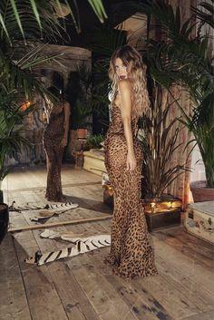 Semi sheer leopard silk cowl neck maxi dress - 'Valentina' Dress – Rat & Boa USA Sheer Dress, Chiffon Dress, Silk Dress, Bodycon Dress, Print Chiffon, Dress Long, Look Festival, Estilo Glamour, Camila Morrone