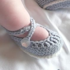 Free Crochet Baby Shoes Patterns | Crochet PATTERN BABY Booties Baby Ballerina Dance Shoes INSTANT ...