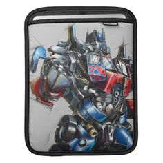 Shop Optimus Prime Sketch 2 Sleeve For iPads created by transformers. Personalized Gifts For Kids, Customized Gifts, Custom Gifts, Transformer Logo, Dog With Glasses, Ipad Accessories, Sketch 2, Ipad Sleeve, Ipad Mini 2