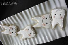 Teeth Cookies | Cherish Sweets - Cookie Connection