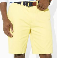 Nothing like pastel yellow shorts...  http://www.ralphlauren.com/product/index.jsp?productId=4064761&view=all&ab=viewall&parentPage=family