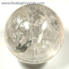 "Sphere - Clear Quartz Spheres ""A"" Grade- Clear Quartz - Healing Crystals And Gemstones, Stones And Crystals, Clear Quartz, Quartz Crystal, Healing Stones, Crystal Healing, Crown Chakra, Natural Crystals, Gemstone Colors"