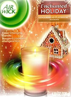 Air Wick Color Changing Gingerbread Playhouse Candle * Continue to the product at the image link.