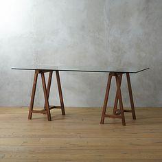 "foundry 72"" trestle table    CB2/ ryan desk/ $499.00"