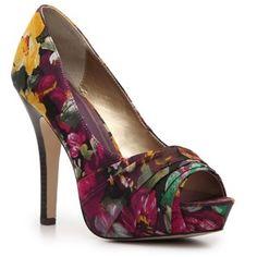 Madden Girl Floral Print Heels | shop shoes pumps madden girl pumps madden girl landdon pump floral ...