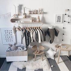 scandinavian style | children's bedroom decor