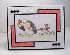 SC435 Sweet Hedgie by Scraperwannabe - Cards and Paper Crafts at Splitcoaststampers