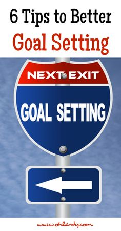 6 Tips For Reaching Your Goals (and a FREE Goal Setting Printable) [exactly what type of goals I'm required to set for work -mm]