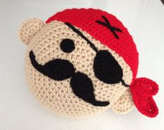 Crochet Pirate Pillow