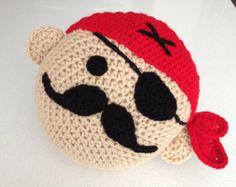 Crochet Pirate Pillow
