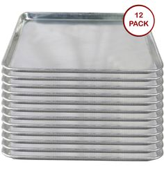 Tiger Chef Full Size Aluminum Sheet Pan - Commercial Bakery Equipment Cake Pans - NSF Approved 1 Dozen (12, 18 x 26 Full Size) >>> Check this awesome image : baking necessities