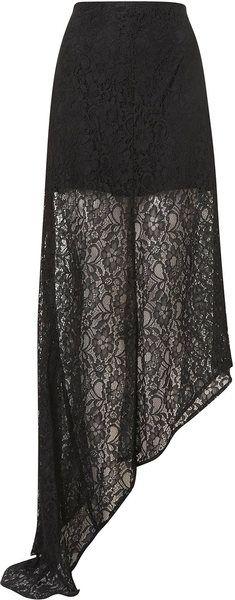 Premium Lace Fishtail Skirt - Lyst