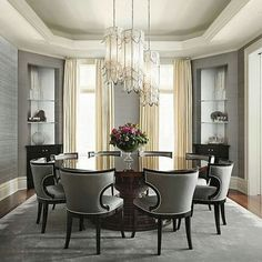 So beautiful dining room   #kitchen #pantry #cooking #breakfast #lunch #dinner #kitchendesign #kitchendecor #oven #refrigerator #smeg #table #ikea #starmark #snacks #electrolux #tefal #zwilling #verasu #diningroom #homepro #powerbuy #food #chef #restaurant #ideocondo #ครัว #เครื่องครัว #ห้องครัว