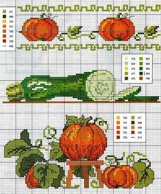 schemi+punto+croce+zucche+e+zucchine.jpg (615×740)
