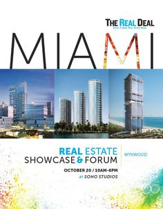 Via Venus Williams ‏  · Oct 19:    Excited to speak on the Design Panel w/ Kobi Karp tomorrow at The Real Deal's South Florida Annual Real Estate Showcase & Forum!