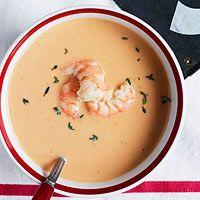 Yum- o! Shrimp Bisque by Rachel Ray. Shrimp Bisque, Bisque Soup, Crab Bisque, Seafood Bisque, Shrimp Soup, Bisque Recipe, Shrimp Recipes, Soup Recipes, Cooking Recipes