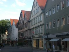 Downtown Bad Canstatt, Germany