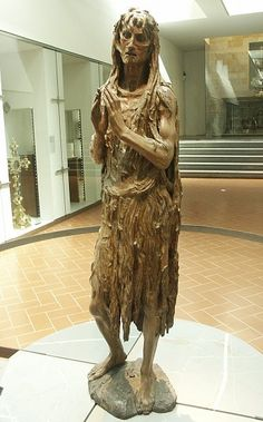 """Images of Mary Magdalene by Donatello~  """"Pentinent Mary"""""""