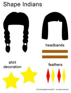 Native American Shape Person