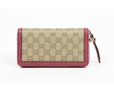 Gucci Ladies Bree Original GG Clutch Wallet #Gucci #Clutch