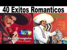 Vicente Fernandez 40 Grandes (Exitos Romanticas 2015)