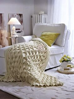 One Arm Chaise Lounge Lounge, Cozy Corner, Home And Deco, Mellow Yellow, Decoration, Sweet Home, Shabby Chic, House Design, Living Room