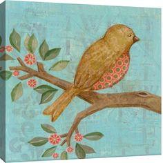 Gallery Direct Fine Art Prints: Golden Bird by Nessa Dee